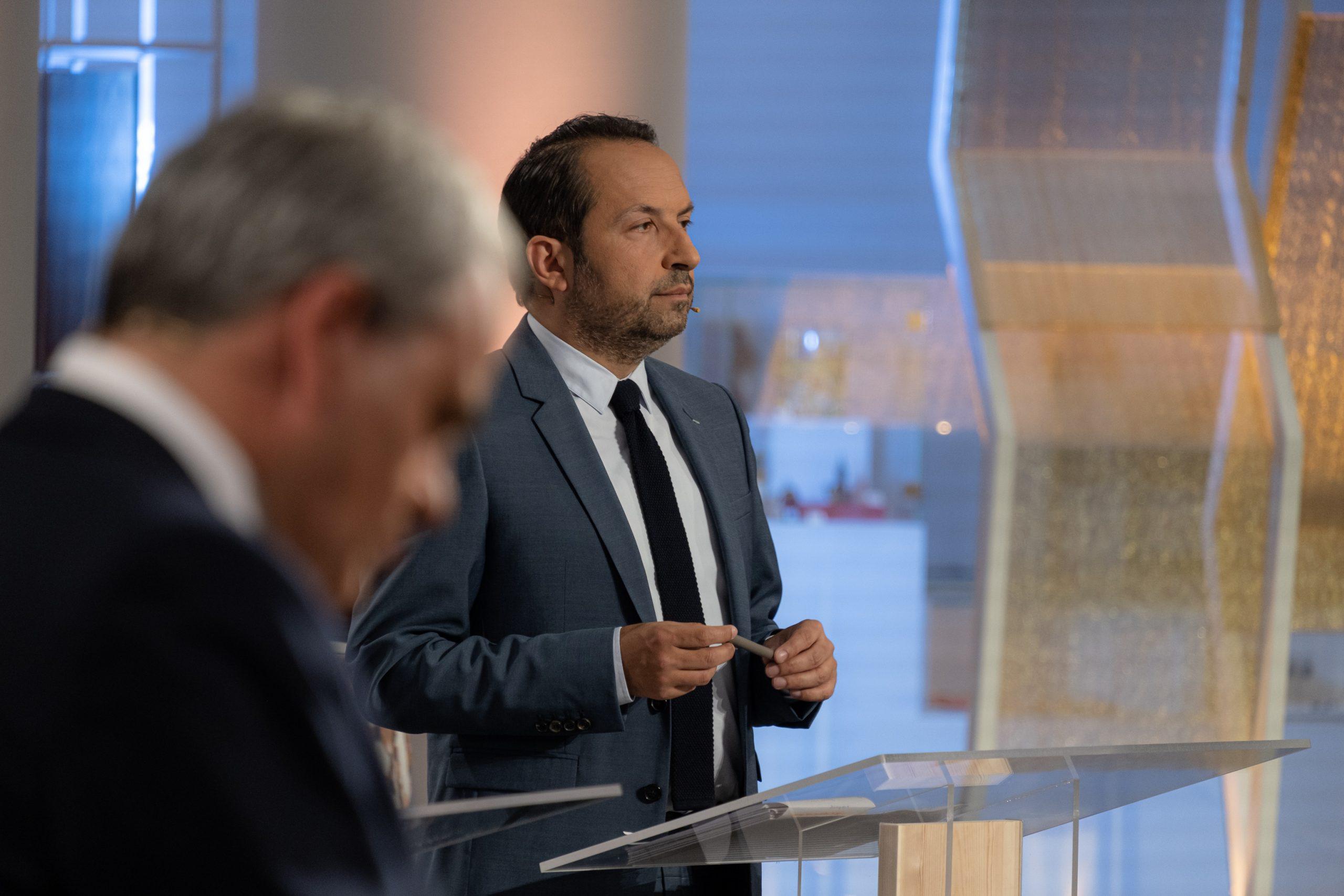 Sébastien Chenu et Xavier Bertrand débat régionales