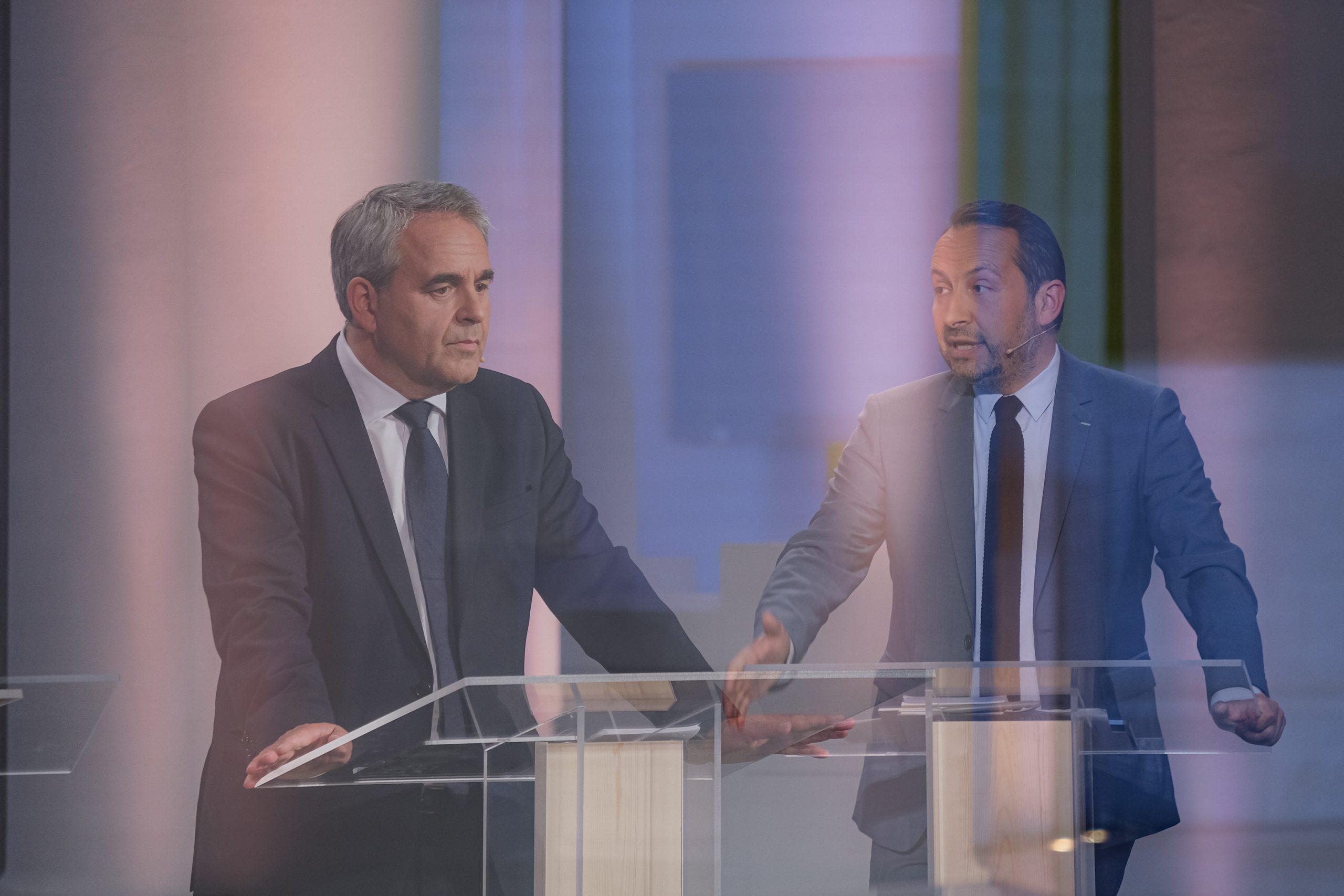 xavier bertrand et sébastien chenu débat régionales