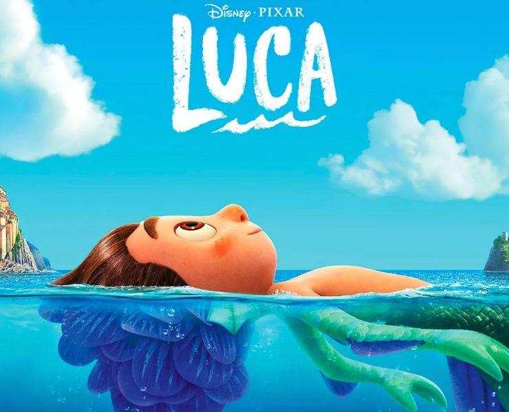 """Affiche du dernier long métrage Pixar """"LUCA"""""""