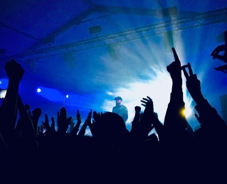 Concert de rap de Médine © Armand Becasse