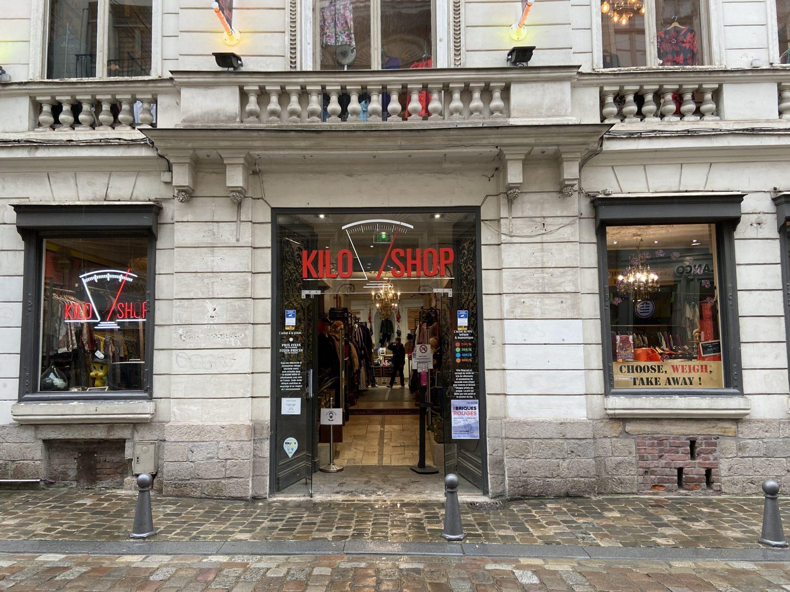 Kilo Shop à Lille, friperie, seconde main