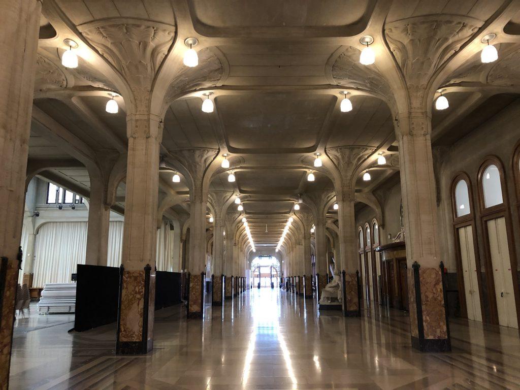 Les galeries de l'Hotel de Ville de Lille