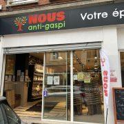 Épicerie anti-gaspillage alimentaire à Lille, NOUS anti-gaspi